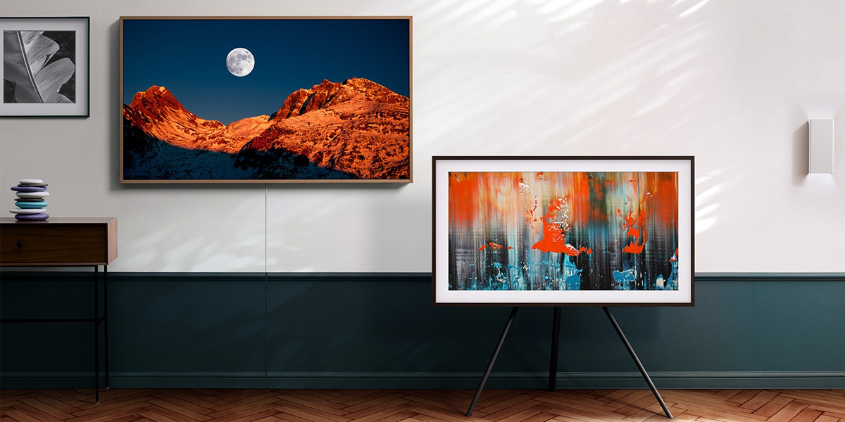 SAMSUNG TV THE FRAME UHD QLED 4K 65 นิ้ว
