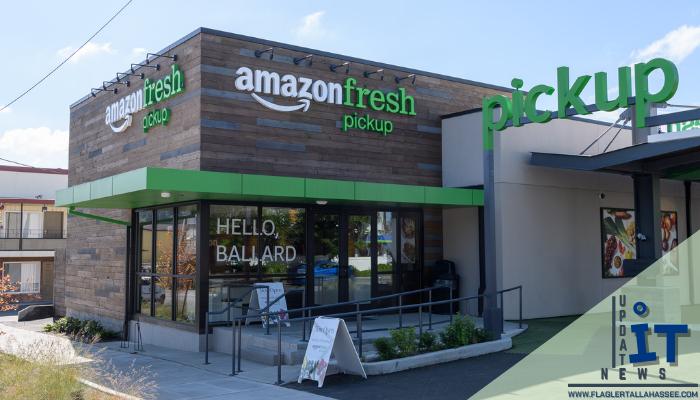 ช้อปปิ้งสบายด้วยการใช้รถเข็นแคชเชียร์อัจฉริยะ การขายออนไลน์อย่าง Amazon ได้เปิด Shopping Store ขึ้นด้วยการใช้ชื่อว่า Fresh Amazon