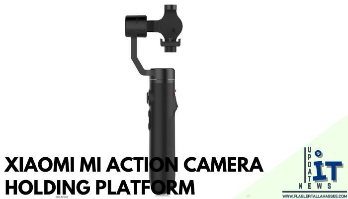 Xiaomi Mi Action Camera Holding Platform ไม้เซลฟี่กล้องแอคชั่นที่สาย Vlog ไม่ควรพลาด ไม้เซลฟี่กล้องแอคชั่น ช่วยป้องกันการสั่นสะเทือน