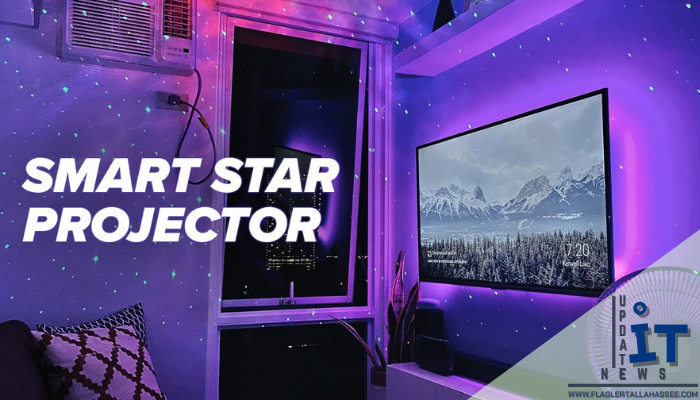 Smart Star Projector นั่นก็คือ โปรเจคเตอร์ที่สามารถฉายภาพดวงดาวและจักรวาลภายในห้องของเราได้ ที่มอบความสุขและความบันเทิงให้แก่เราได้