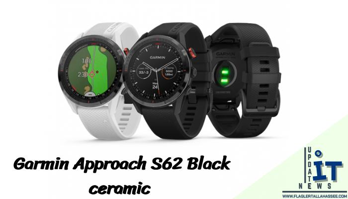 Garmin Approach S62 Black ceramic นาฬิกา smart watch ที่แข็งแกร่งที่สุดอีกหนึ่งรุ่นไม่ได้มีดีเพียงแค่ความแข็งแรงทนทานเท่านั้น