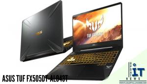 โน๊ตบุ๊คเกมส์มิ่งASUS TUF FX505DT-AL043T เป็นการจับมือร่วมกันระหว่างCPU AMD Ryzen 7 3750H กับ การ์ดจอ NVIDIA GEFORCE GTX 1650