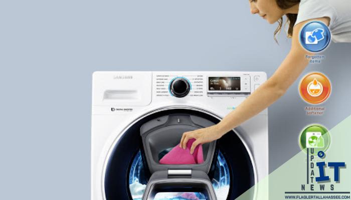 เครื่องซักผ้าฝาหน้าจากซัมซุง มาพร้อม AddWash ใส่ใจผ้าทุกชิ้นที่ถูกลืม ซัมซุงได้ออกแบบเครื่องซักผ้าฝาหน้าตัวใหม่ที่แคร์ผ้าทุกชิ้น